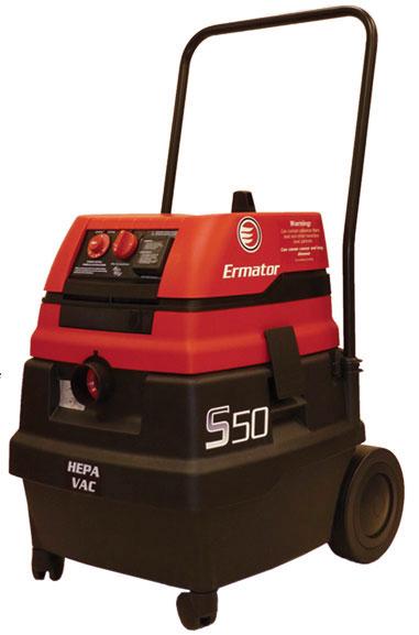 S50 Wet/Dry HEPA Vacuum